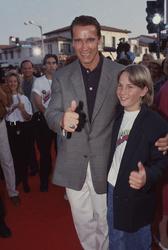 Arnold Schwarzenegger and Austin O