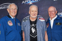 Charlie Duke, Buzz Aldrin, Gerry Griffin