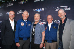 Nick Grace, Charlie Duke, Buzz Aldrin, Gerry Griffin, Scott Faris
