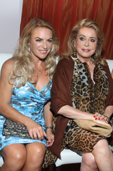 Catherine Deneuve  and Christine Neubauer