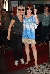 Annette Mason and Kathy Lette
