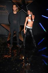 Rashad Haughton and Aaliyah Waxwork