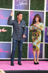 Donny Osmond and Marie Osmond