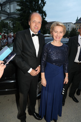 Ursula van der Leyen and Heiko van der Leyen