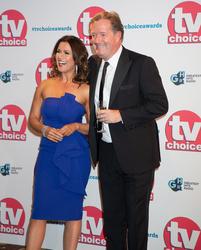 Susannah Reid and Piers Morgan