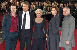 Joseph Quinn, Jason Clarke, Dame Helen Mirren, Gina McKee and Kevin McNally