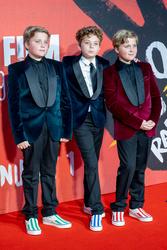 Gilby Griffin Davis, Roman Griffin Davis and Hardy Griffin Davis