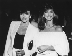 Joan Collins and Victoria Principal