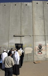 Palestinian worshipers