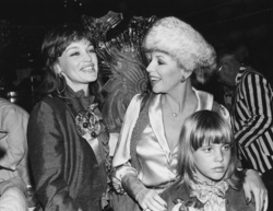Joan Collins, Katyana Kennedy Kass and Pamela Sue Martin